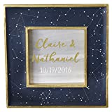 Kate Aspen Under the Stars Constellation Frame Navy/Gold/White