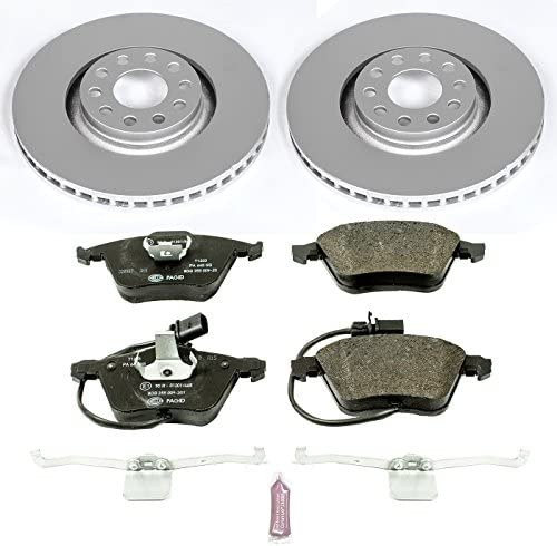 Power Stop ESK2990 Front Euro-Stop Brake Kit Audi