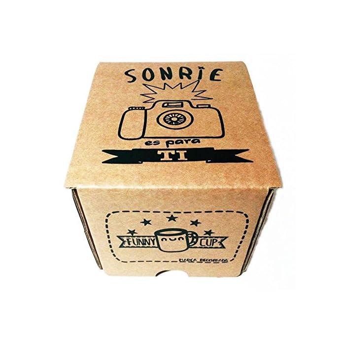 519bds ✅ Taza de alta calidad AAA+ máxima dureza y brillo de colores. ? Con caja divertida antirotura de regalo para que no sufra en el transporte. ? Apta para microondas y lavavajillas con total seguridad. Nunca se borran los diseños.