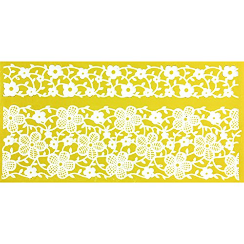 Primrose Borders Silicone Lace Mat by Chef Alan Tetreault