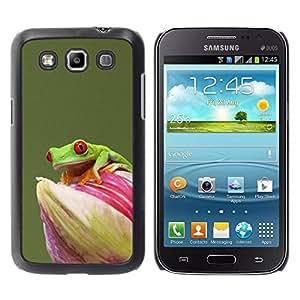 Paccase / SLIM PC / Aliminium Casa Carcasa Funda Case Cover para - Flower Green Pastel Animal Rainforest - Samsung Galaxy Win I8550 I8552 Grand Quattro