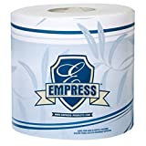 Empress BT 4232500 Bath Tissue Roll, 2-Ply, 4.25'' Length, 3.25'' Width, White (Pack of 96)