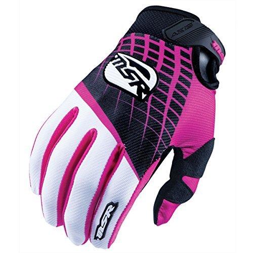 Msr Motorcycle Gear (MSR Women's Axxis Gloves - Medium/Black/Pink)