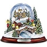Thomas Kinkade Jingle Bells Illuminated Musical Christmas...