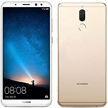 Huawei Mate 10 Lite LTE 5.9 Edge-to-Edge 64GB/4GB Dual Sim Factory Unlocked (Gold)