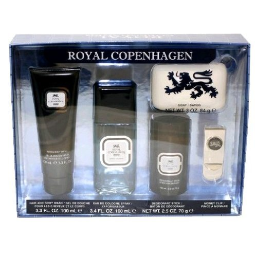 Royal Copenhagen Gift Set - Royal Copenhagen 5 Piece Gift Set for Men