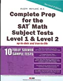 Complete Prep for the SAT Math Subject Tests Level 1 and Level 2, Rusen Meylani, 0974822213