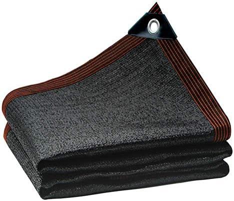 JINHHプールパーゴラ、サンシェイドシェードネッティング布工場シェードブラックペット工場カバー温室物置小屋プール保護防風
