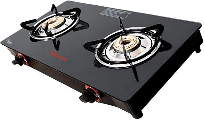 Butterfly Smart Glass Gas Stove
