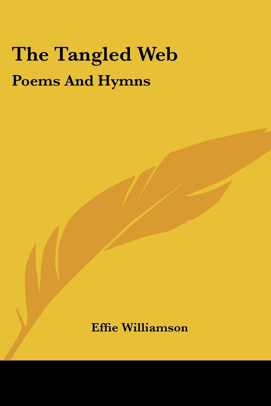 Read Online The Tangled Web: Poems And Hymns pdf