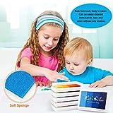 Craft Rainbow Finger Ink Pads Stamps Partner, Set