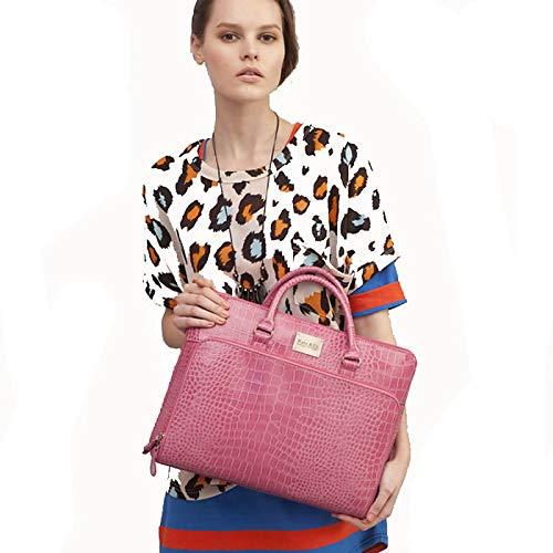 main QZTG Carrière Sacs À À Sac Sacs pour Femmes Cabas sac pour Et en Main Sacs À PVC Bandoulière Pinkcross Bureau Dos à pEqfwE