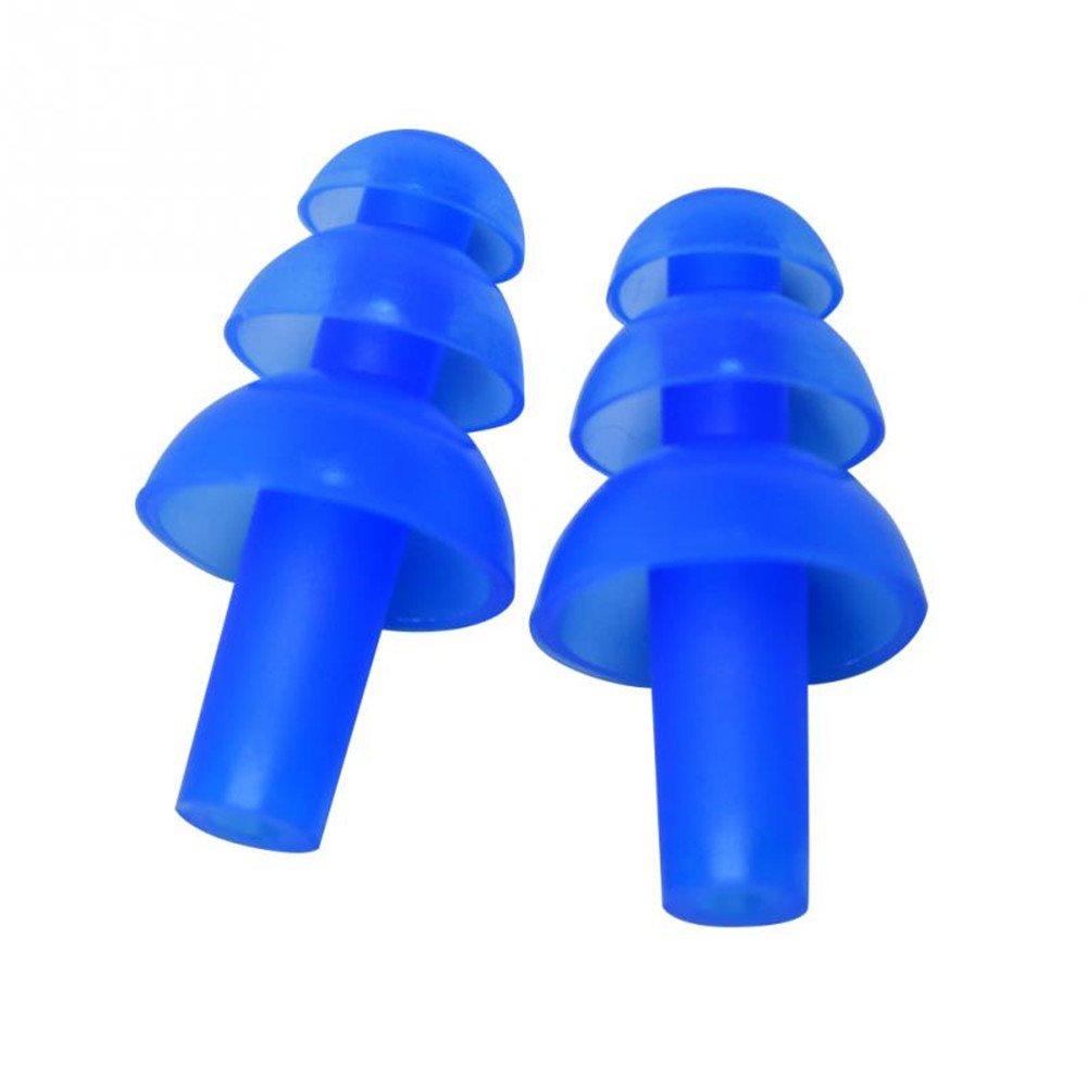 18 paia tappi auricolari in silicone stucco protettivi for Tappi orecchie per dormire