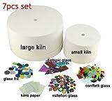 Large & Small Microwave kiln kits (7pcs set) Jewelry Making Kits