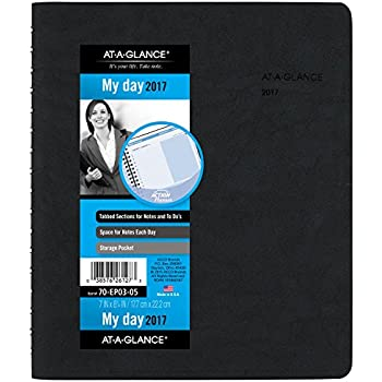 durable service at a glance daily appointment book planner 2016