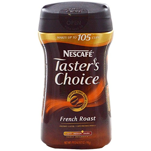 Taster's Choice, Instant Coffee Gourmet Roast, 7 Ounce ( Case of 12 (Taster Case)
