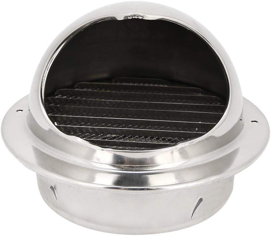 Fdit Ventilador de Cocina de Acero Inoxidable para el hogar Diseño de Malla Sin Rebabas Campana de Escape Rejilla Salida de ventilación Accesorio: Amazon.es: Hogar