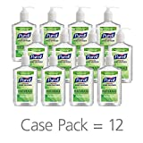 Product review for PURELL NATURALS Advanced Hand Sanitizer Gel, with Skin Conditioners and Essential Oils, 12 fl oz Counter Top Pump Bottle (Case of 12) - 9629-12