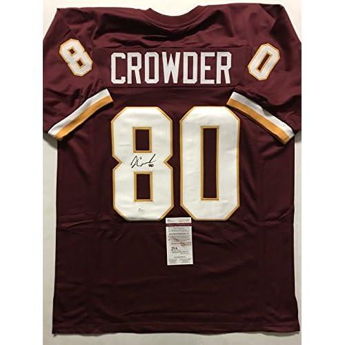 the best attitude 4502d ab98d Autographed/Signed Jamison Crowder Washington Redskins ...