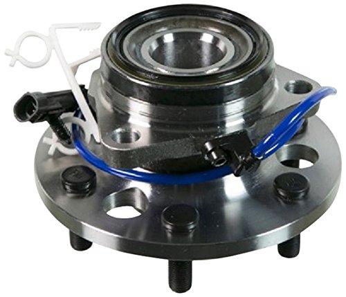 Hub Assy Front Wheel - MOOG 515024 Wheel Bearing and Hub Assembly