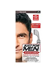 Just For Men AutoStop Men\'s Hair Color, Real Black