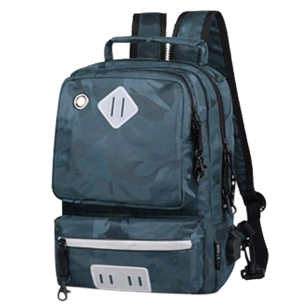 blueeE SEAMUSIC 2018 New Men's Chest Bag Shoulder Diagonal Bag Leisure Travel MultiFunction Outdoor Backpack (blueee)