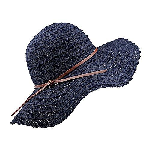 Navy Blue Brush Cotton Hat - 5