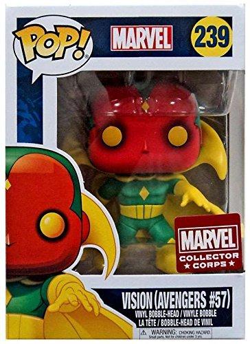 Funko Pop Vinyl Marvel Vision Avengers #57 Bobblehead