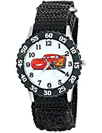 Kids' W001930 Cars Analog Display Analog Quartz Black Watch