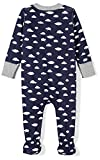 Moon and Back Baby Organic Footed Zip-Front Sleep