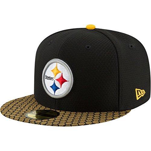 New Era 59Fifty Cap - NFL SIDELINE 2017 Pittsburgh Steelers - 7 1/8