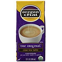 Oregon Chai Chai Tea Latte Concentrate, 32 oz by Oregon Chai