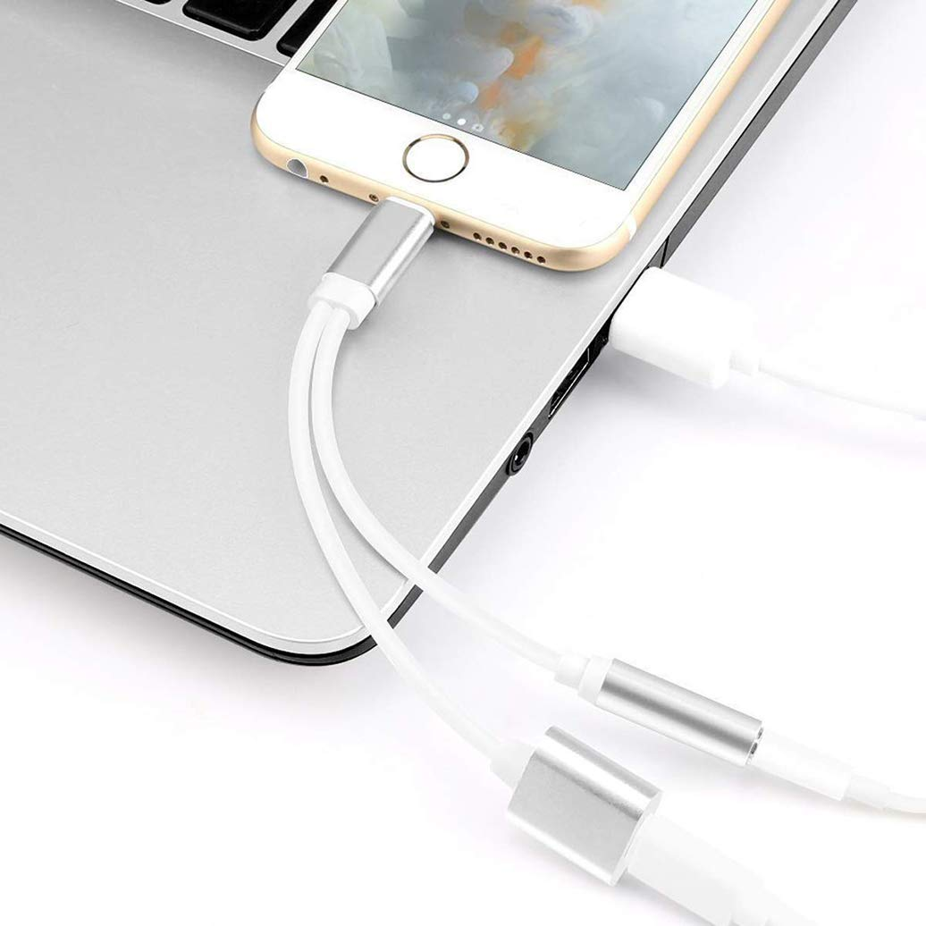 CP197 USB Charging Port Anti Dust Plug Cute White Bow Pendant Phone Charm for iPhone 11// XS MAX//XR//X//8 Plus//7//6S//8//SE iPad iPod