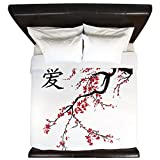 CafePress - Cherry Blossom - King Duvet Cover, Printed Comforter Cover, Unique Bedding, Luxe