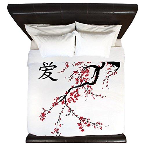 CafePress - Cherry Blossom - King Duvet Cover, Printed Comforter Cover, Unique Bedding, (Blossom Comforter)