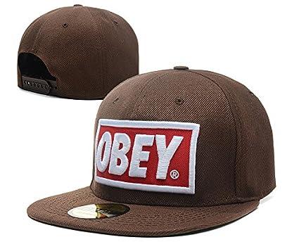 HederySGMY Gorra de béisbol, de algodón, con mensaje Obey, para ...