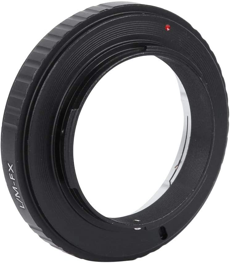 Bewinner Ring Converter for Camera,Camera Lens Adapter Ring for M Lens to for X-Pro1 Mirrorless Camera,Detachable Adapter Ring,Can Use Alone,Convenient and Practical