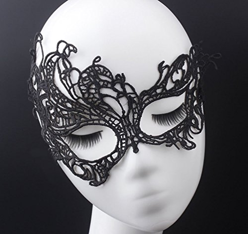 Cave Girl Costume Makeup - Deals Sales Today 2017 Lace Sexy Mask,Venetian Masquerade Lace Eyemask Eye Mask for Halloween Masquerade Party,Girlfriend Gift