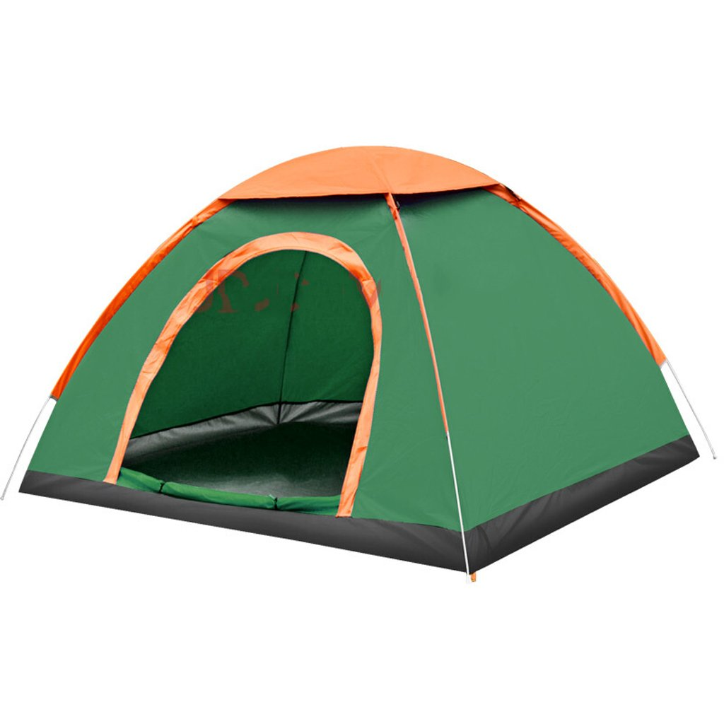 Deng Outdoor Open Hand Wurfzelte Outdoor Camping Camping Zelte 2 Personen grün