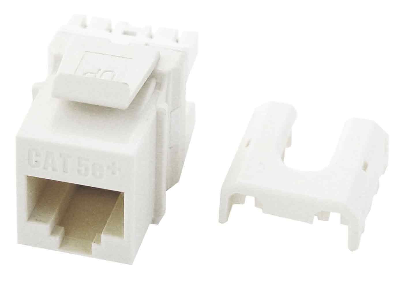 Legrand - On-Q WP3475WH50 RJ45 Cat5e QC Keystone Insert (50 pack), White