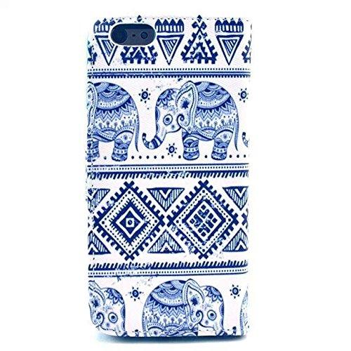 Monkey Cases® iPhone 6 4,7 Zoll - Flip Case - ELEFANTEN - Premium - original - neu - Tasche - elephants #3