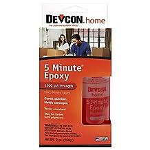 Devcon Epoxy All Purpose Wood, Concrete, Ceramic Clear Bottle, Carded 4.5 Oz