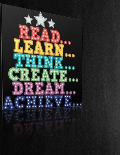 Teacher Thank You - Read Learn Think Create Dream Achieve: Teacher Notebook - Journal or Planner for Teacher Gift: Great for Teacher Appreciation/Thank You/Retirement/Year End Gift - Black Board - Caterpillar Mug