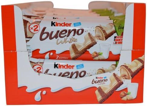 Kinder Bueno WHITE, CASE, (39gx30)-WHITE: Amazon.es: Alimentación ...