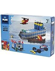 PLUS PLUS – 3-i-1 Basic - 480 bitar – Byggklossar, Bygga, Utvecklande leksaker för barn, STEM, STEAM, Producerat i Danmark