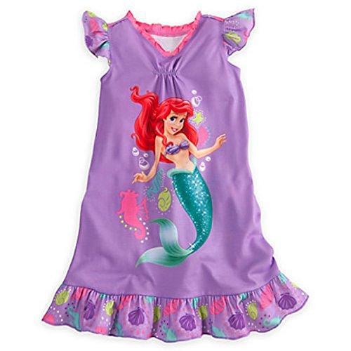 UPC 768352234336, Disney Store The Little Mermaid Ariel Girl Nightgown Pajama (7/8)
