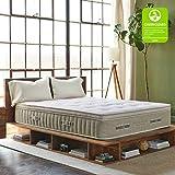 Brentwood Home Cedar Green Mattress Natural Latex Hybrid, GREENGUARD...