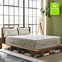 What's in all natural comfort? For many years, latex has been the material of choice for eco-friendly mattress shoppers. It's a 100% natural material, but it hasn't always been ideal for sleep comfort. Flat layers of latex can be heavy...