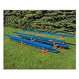 Jaypro Sports BLCH-3PC 3 Row 15 ft. Powder Coated