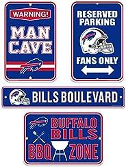 Buffalo Bills Four Pack Fan Sign Set